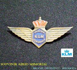 KLM Broche Comissario Jr