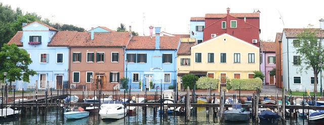 Burano, depuis Mazzorbo - Venise - Italie
