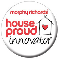 Morphy Richards Home of the House Proud innovator Logo