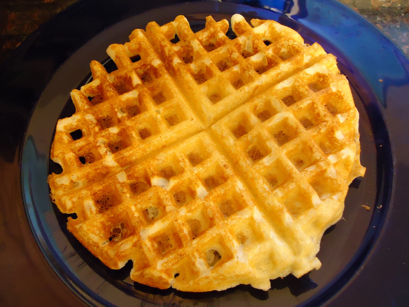 Egg Allergy Cooking: Buttermilk Waffles {Egg-free}