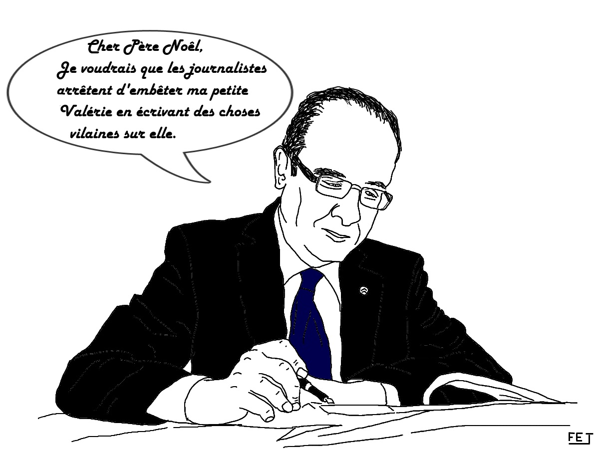 L 39 actualit vue en dessins humoristiques par fej hollande - Image humoristique pere noel ...