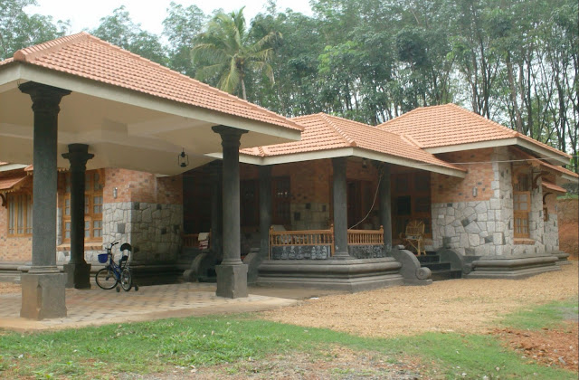 Kerala House Plan With Nadumuttam Joy Studio Design