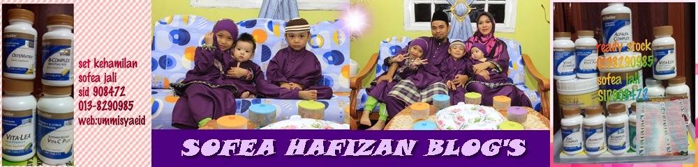 SOFEA HAFIZAN BLOG'S