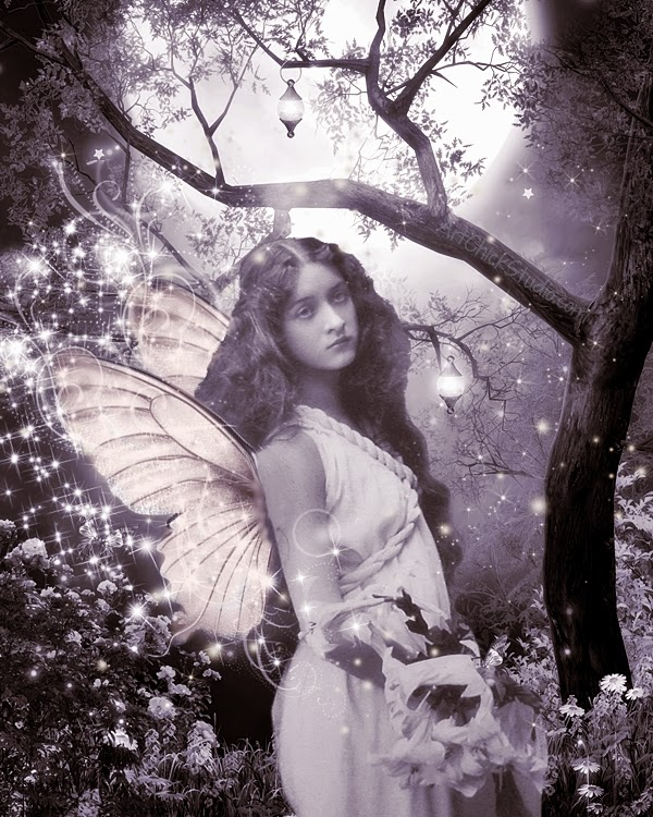 Maude Fealy Digital Fairy Art