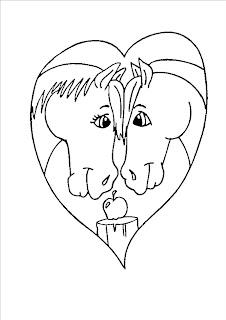Gonfiabiliserena disegni gratis da colorare per san valentino for Disegni di cavalli da stampare e colorare
