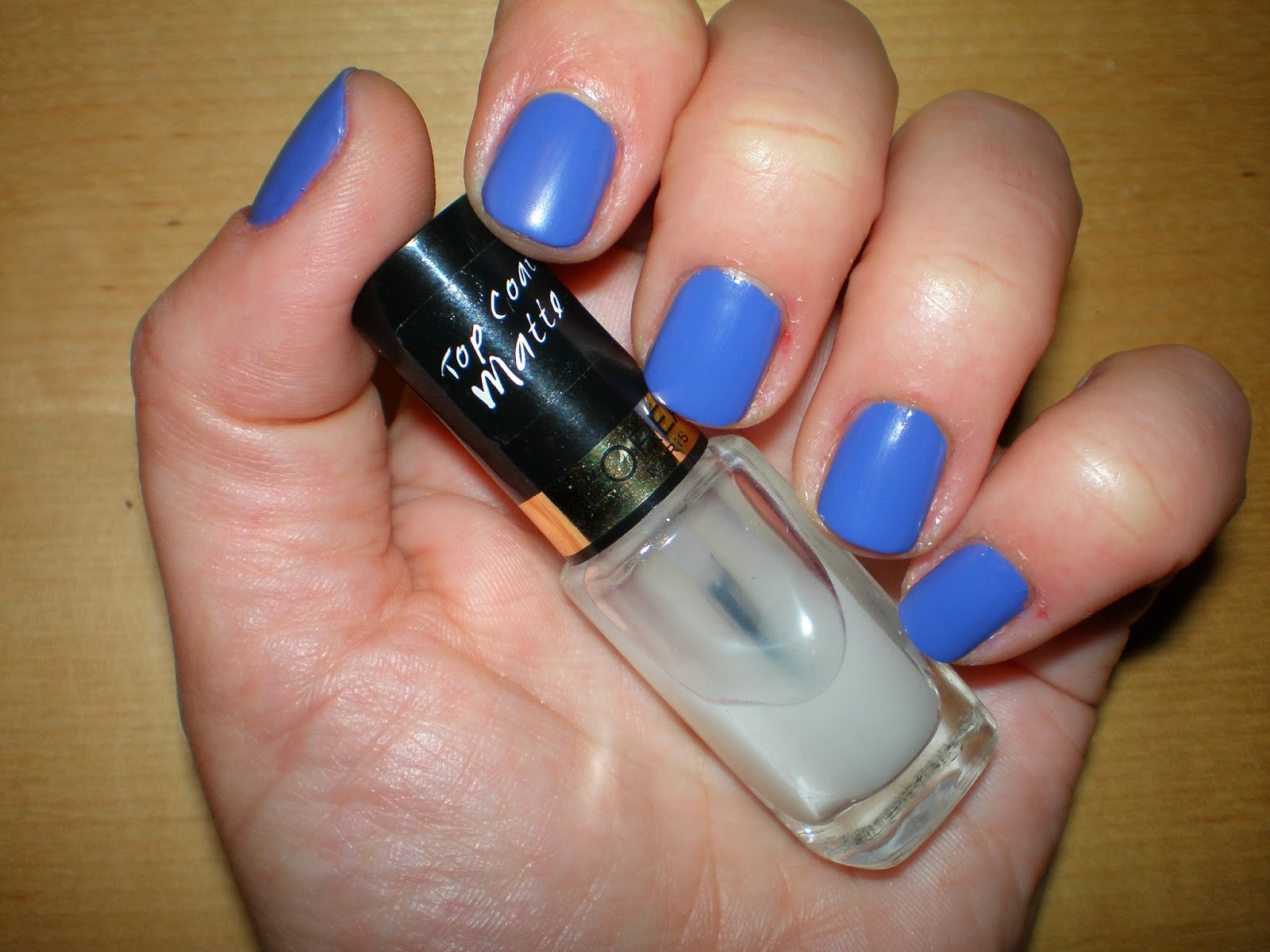 L'oreal top coat matte