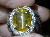 3,68ct NATURAL ALEXANDRITE CHRYSOBERYL CAT EYE