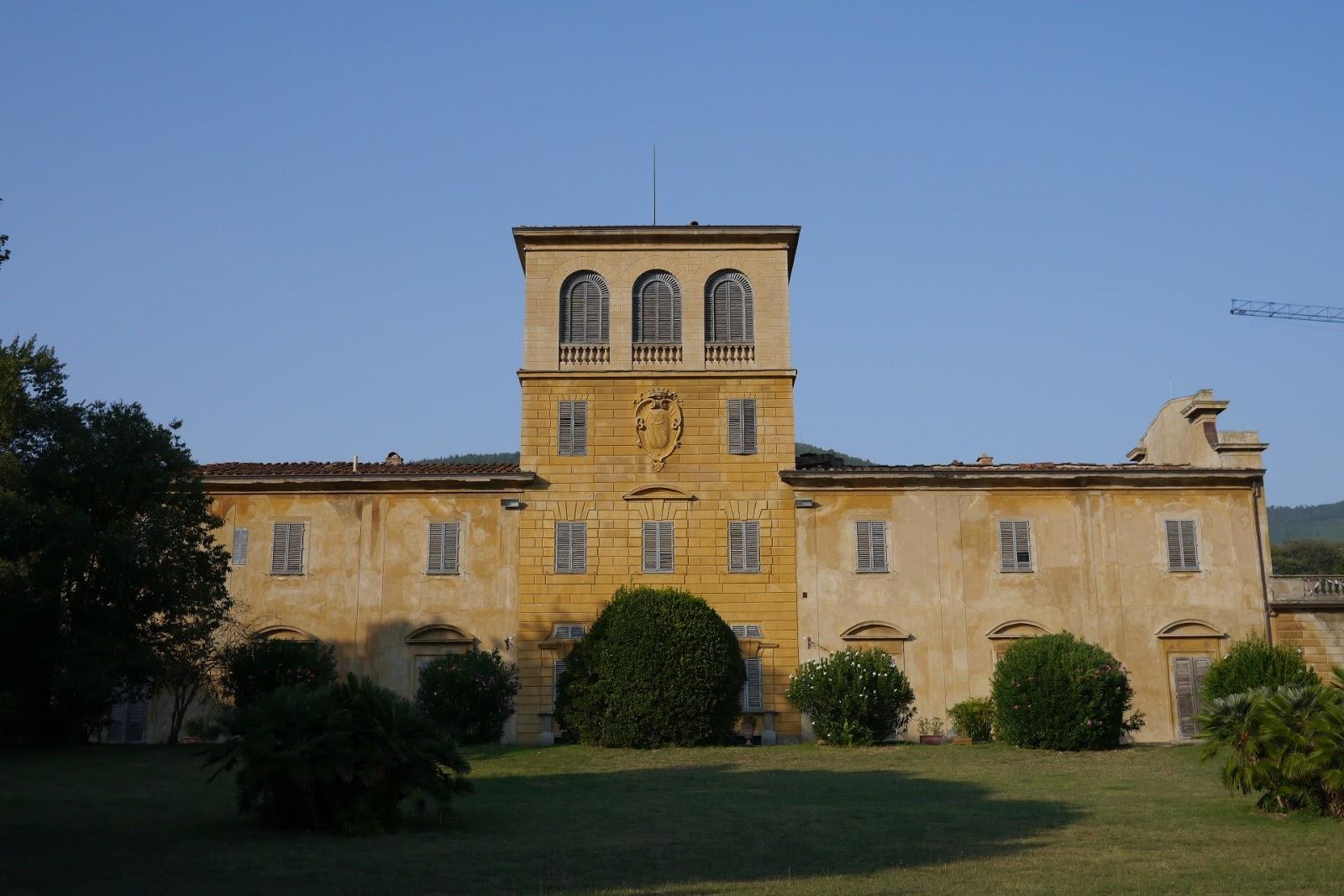 Girovagando un paradiso sulle colline di sesto fiorentino for Villa villoresi