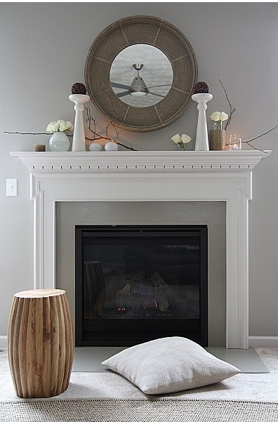 Classic With A Twist Fireplace Designs And Decor