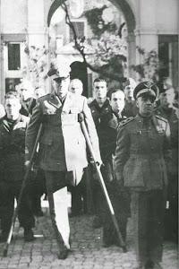 """Il Maggiore Fulvio Balisti, Comandante del Rgt. """" Giovani Fascisti """""""