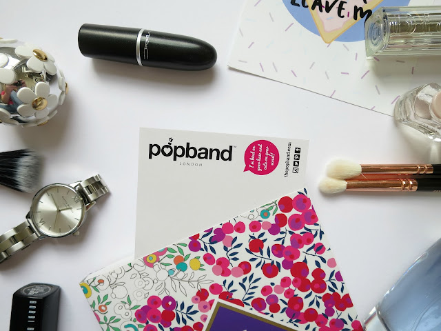 Popband London hair ties review flat lay