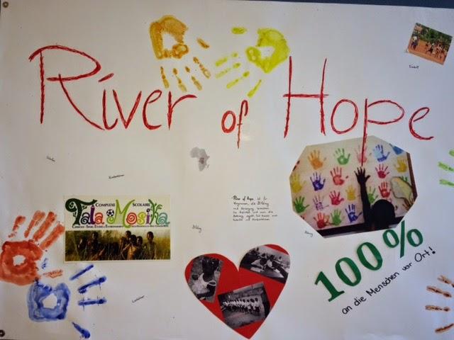 Poster gestaltet von den Schülern
