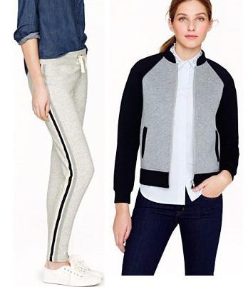 spring fashion, sporty fashion, sportswear, jcrew