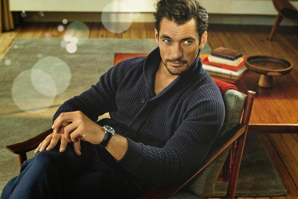 David Gandy For M Amp S F W 2014 Campaign Pictures Update