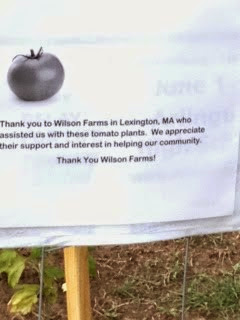 Thank You Wilson Farms!