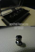 Butang Baju Melayu Diamond Black
