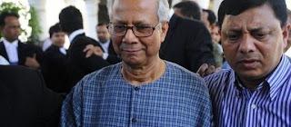 Muhammad Yunus licencie Grameen Bank renvoi justice nobel paix microcredit