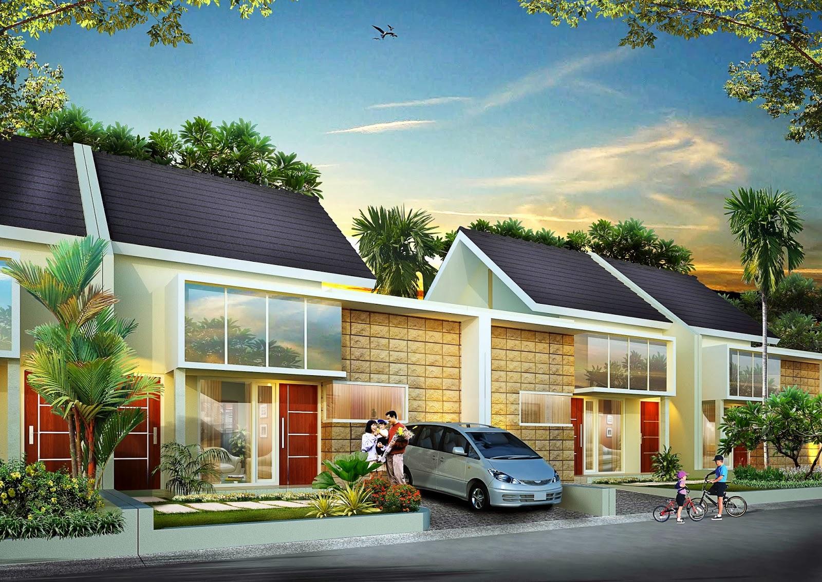 3d rumah tinggal