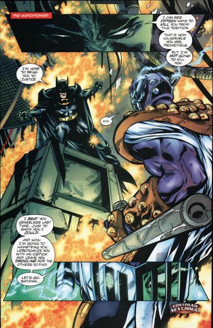 As cinco maiores batalhas do Batman 7