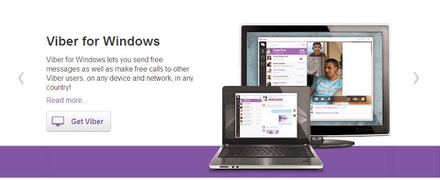 تحميل برنامج فايبر للكمبيوتر مجانا