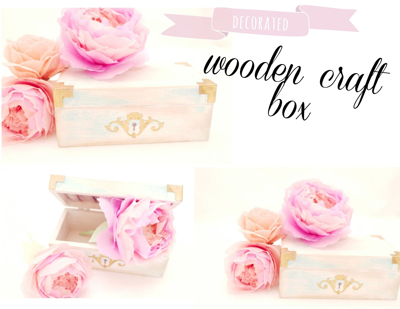 dollar store wooden box transformation - twigg studios