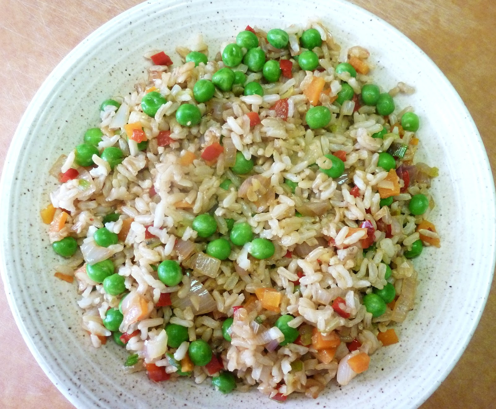 My Adventures Testing 1000 Vegan Recipes: Vegetable Fried Rice