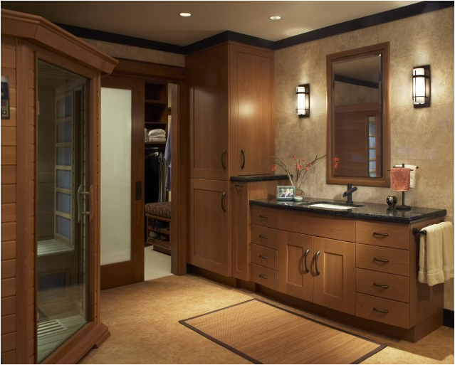 Traditional bathroom design ideas room design ideas for Bathroom closet remodel