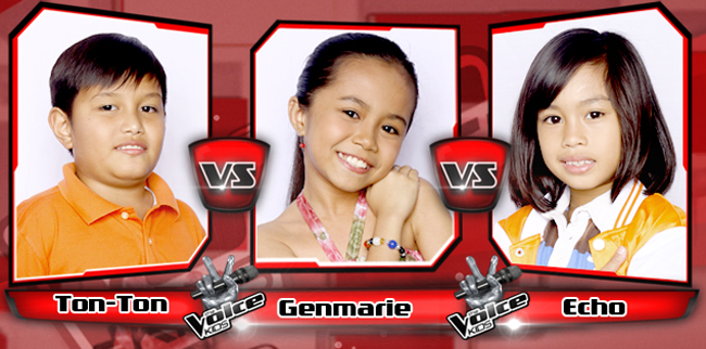 "WATCH:Ton-Ton vs. Genmarie vs. Echo ""May Bukas Pa"" The Voice Kids Battle Rounds"