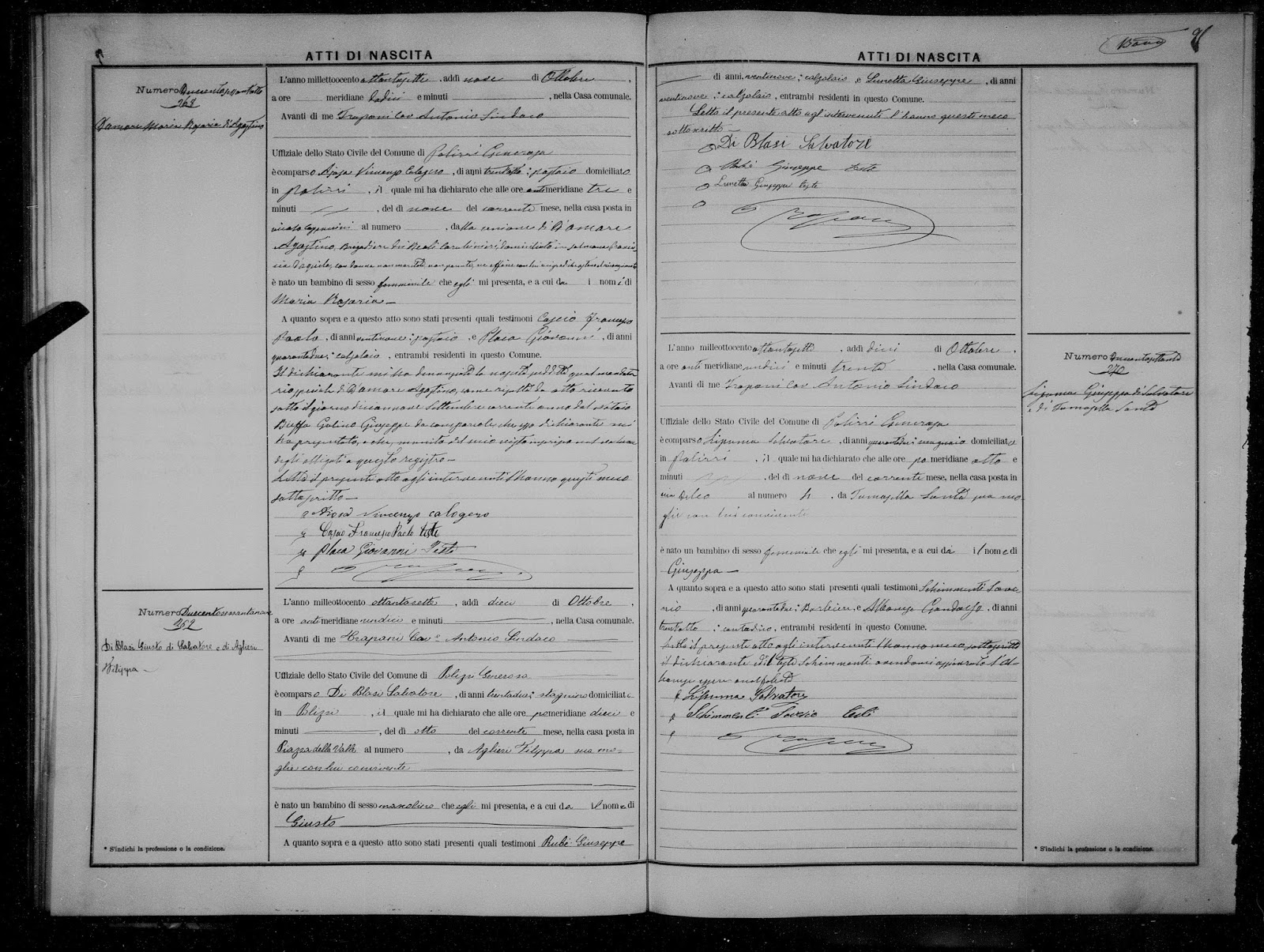 how to find italian birth records