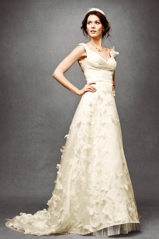 So in love...Anthropologie unveils wedding dresses at BHLDN ...