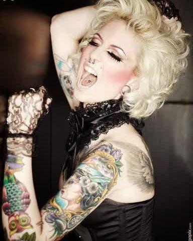 Melissa Dramaqueen Hand Tattoo Designs