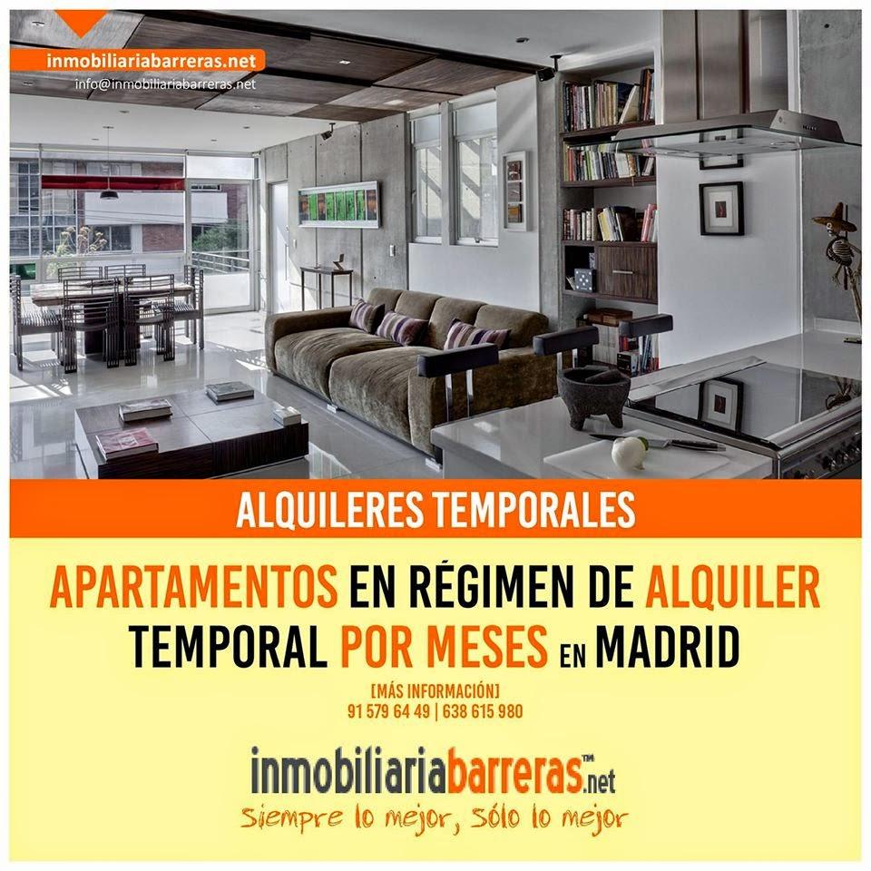 Apartamentos temporarios Madrid España Spain