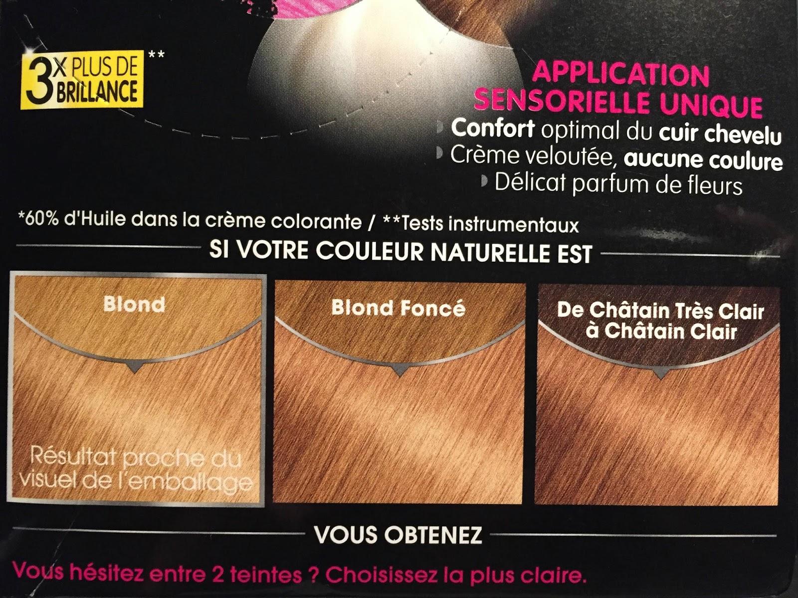 on dirait plutt un brun je ne comprend pas pourquoi jai eu ce rsultat je pense donc que je vais racheter un colour b4 et laisser mes cheveux - Coloration Olia Blond
