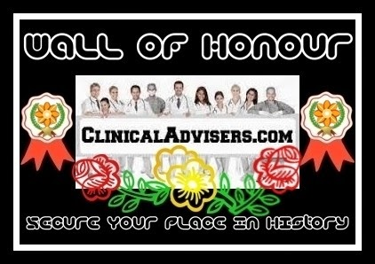Clinical Advisers | Wall of Honour