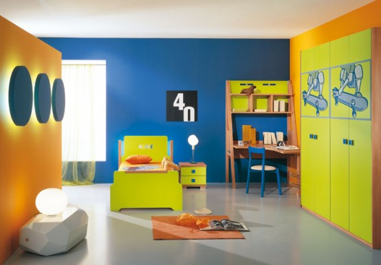 Modern kids room decor ideas 2012 home improvement and for Activity room decoration