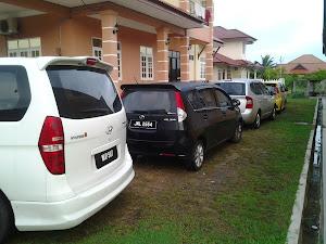 parking yang luas