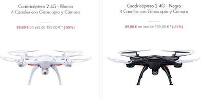 Drones avanzados baratos