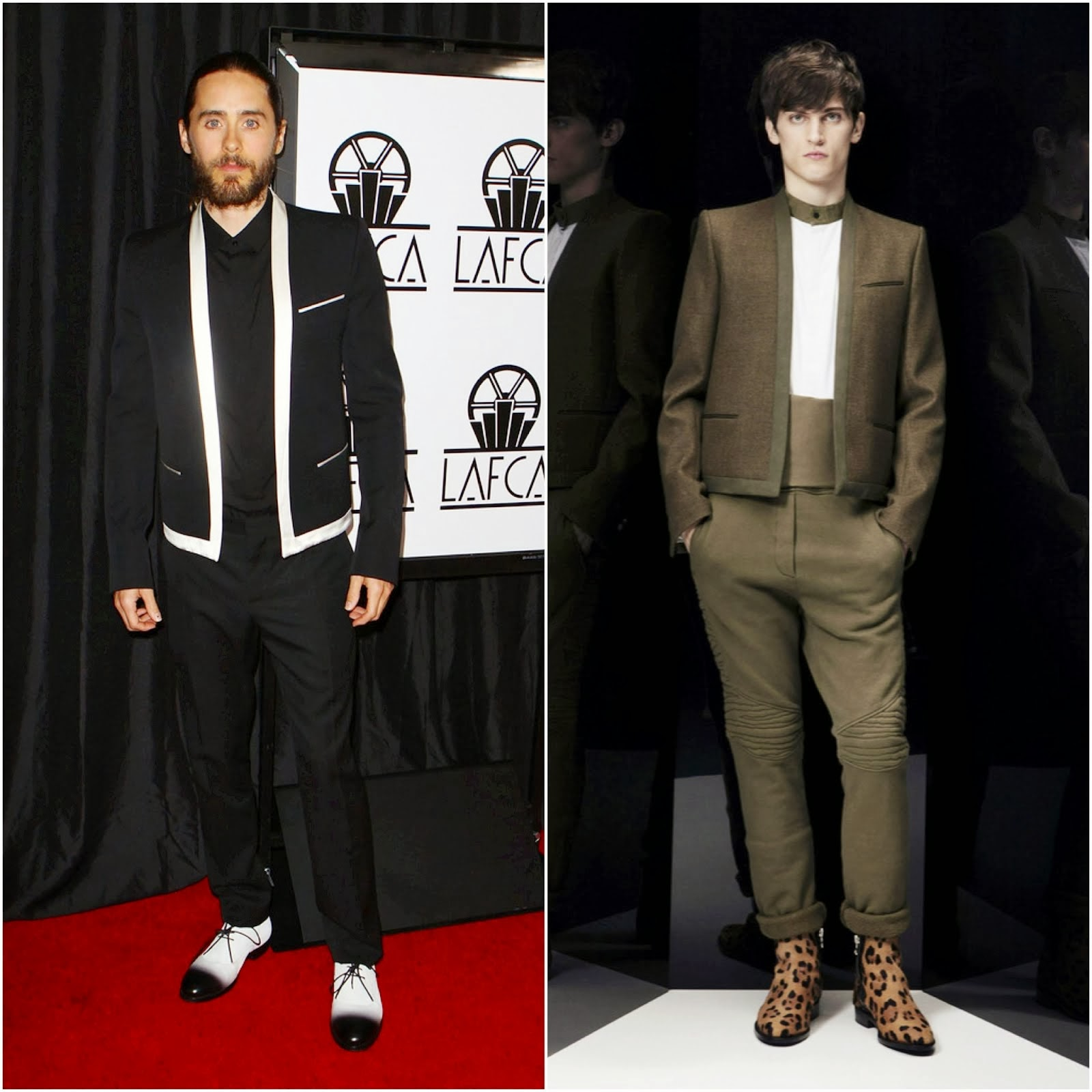 Jared Leto in Balmain - 39th Annual Los Angeles Film Critics Association Awards