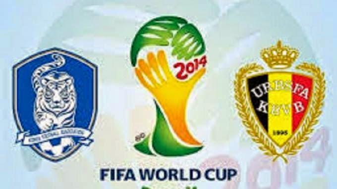 Prediksi Skor (Line-Up) Korea Selatan vs Belgia 27 Juni 2014 | Piala Dunia Grup H