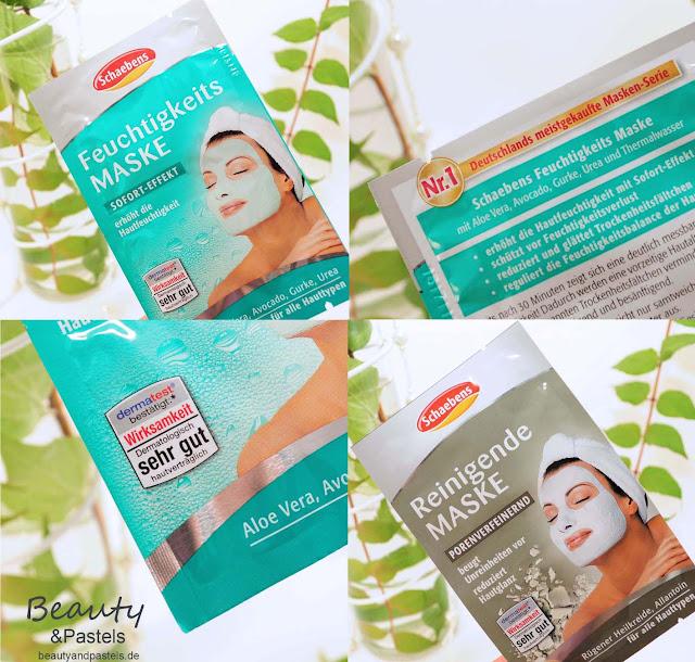 Gesichtsmasken Reinigung und Feuchtigkeit