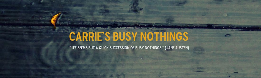 Carrie&#39;s Busy Nothings