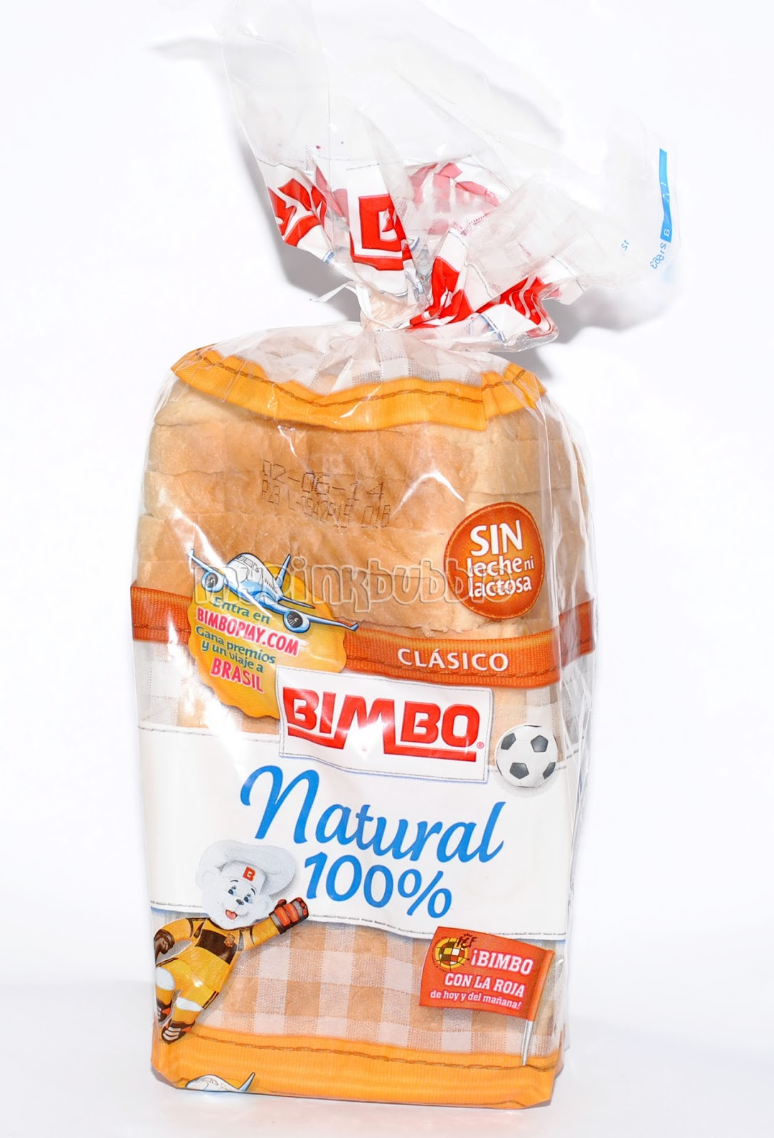Pan Bimbo natural 100%