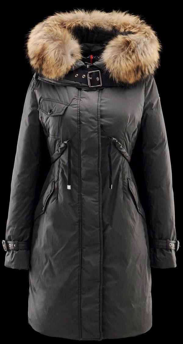 Women Moncler Phalangere Gray Coat