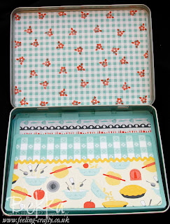 Domestic Goddess Recipe Tin