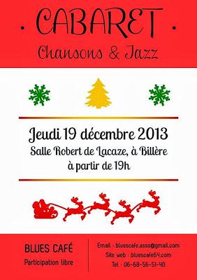 soirée Cabaret Chansons & Jazz à Billère