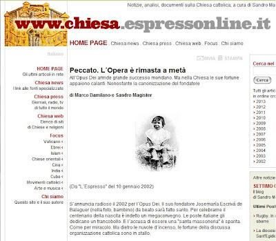 Silvio Berlusconi, el Vaticano y la Orden Constantina Espresso