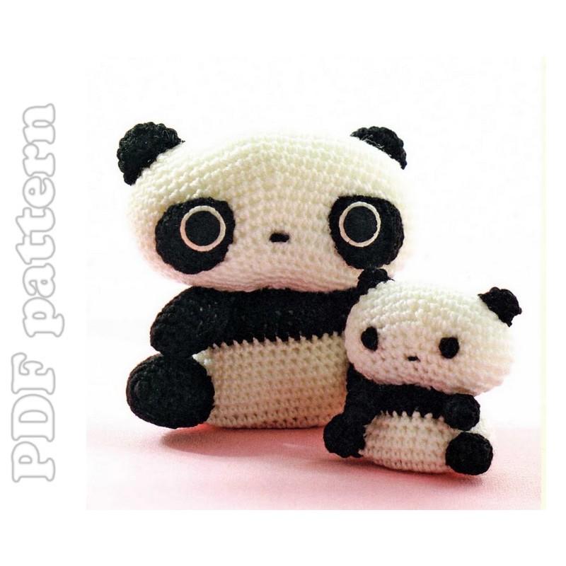 Amigurumi Tarepanda : CraftyLine e-pattern shop: 2 Amigurumi Tarepanda San-X ...