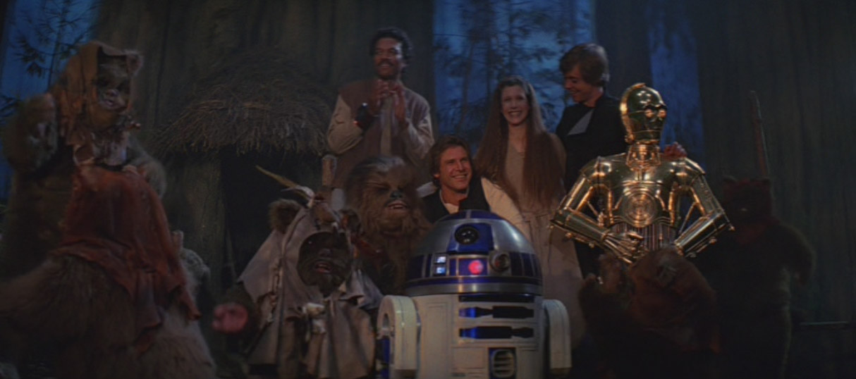 star wars vi return of the jedi ending relationship