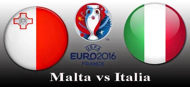 Malta vs Italia