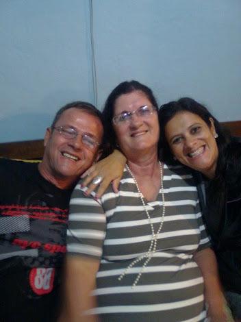 Nós e minha cunhada Márcia Rossi